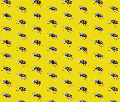 Fly fabric by stlepus on Spoonflower - custom fabric