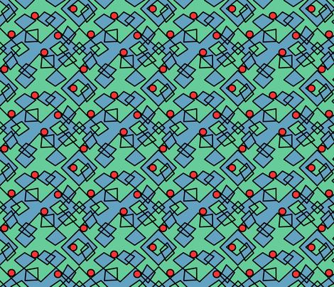 ©2011 Argy Argyle fabric by glimmericks on Spoonflower - custom fabric