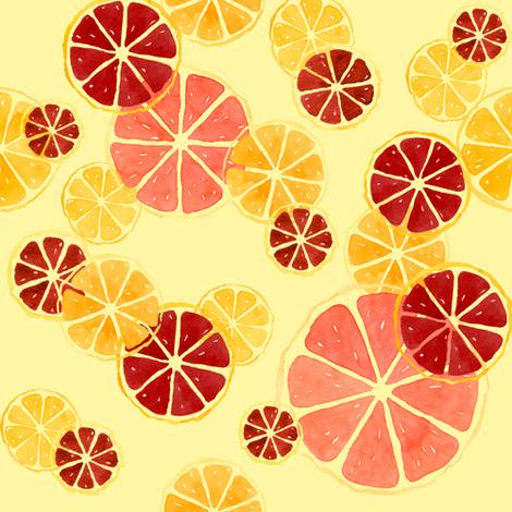 Juicy_Citrus fabric by meduzy on Spoonflower - custom fabric
