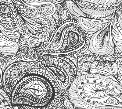 grey paisley - colour-in-wiccked