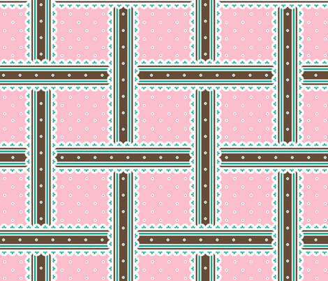 Chocolate Box - Fairy Floss fabric by inscribed_here on Spoonflower - custom fabric