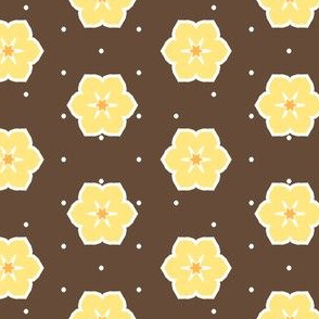 Dark Chocolate Floral - Banana