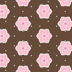 Dark Chocolate Floral - Fairy Floss