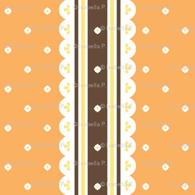 Chocolate Ribbon - Orange