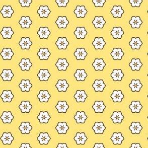White Chocolate Floral - Banana