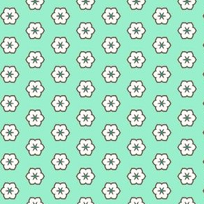 White Chocolate Floral - Peppermint