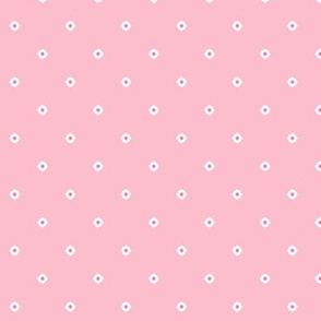 Dot Floral - Fairy Floss