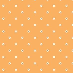 Dot Floral - Orange