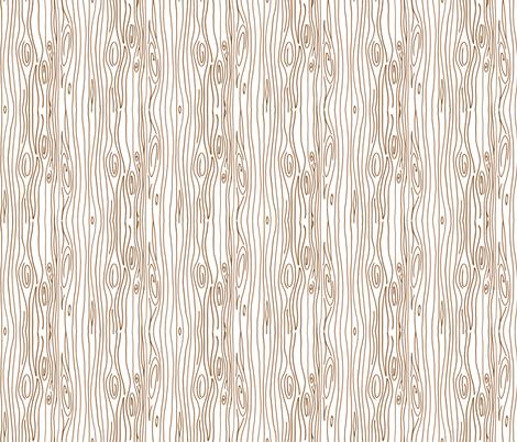 Wonky Wood - Brown fabric by jesseesuem on Spoonflower - custom fabric