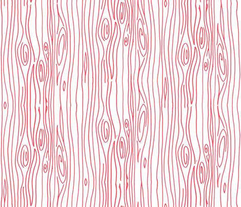 Wonky Wood - Pink fabric by jesseesuem on Spoonflower - custom fabric