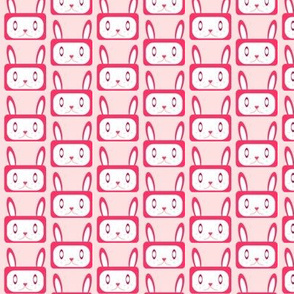 Bunnies - Repeat - Pinks
