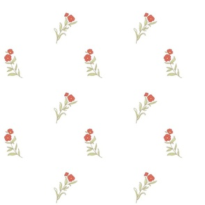 1795-1800 Carnation Print