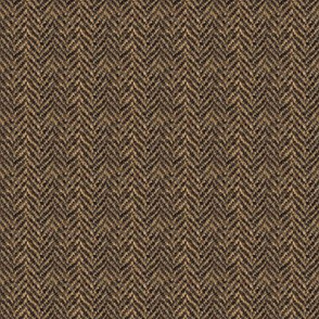 Herringbone Tweed - Brown