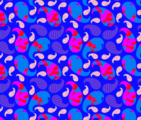 paisleypatchwork fabric by bouclé_sf on Spoonflower - custom fabric