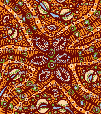 Busy cells (orange)