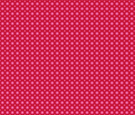fleur_rouge_rose fabric by nadja_petremand on Spoonflower - custom fabric