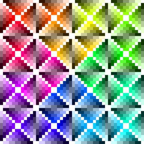 00490873 : harlequin palette test fabric by sef on Spoonflower - custom fabric