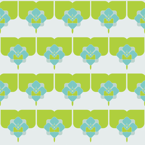 flower fabric by sary on Spoonflower - custom fabric