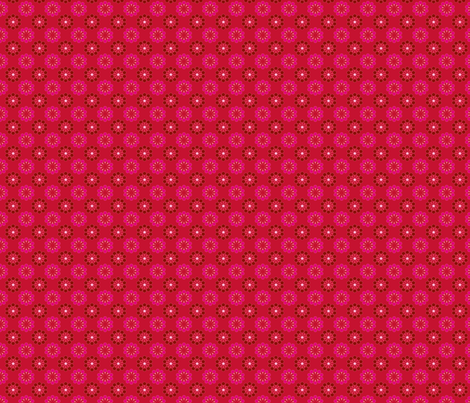 psychadelic_dots_red fabric by nadja_petremand on Spoonflower - custom fabric