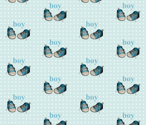 boy fabric by nrink on Spoonflower - custom fabric