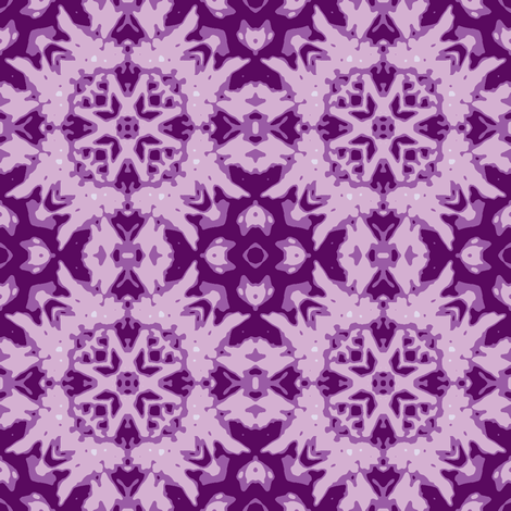 purple_butterfly_and_star_crop_45_multi_aster_Picnik_collage_4 fabric by khowardquilts on Spoonflower - custom fabric