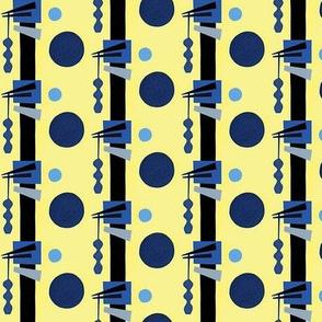Mod Moonlit Stripes