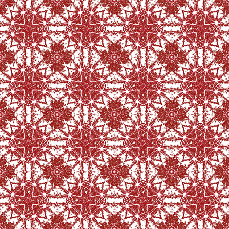 red three colored cross _6b_pa_pinwheel_nas_leaves_ fabric by khowardquilts on Spoonflower - custom fabric