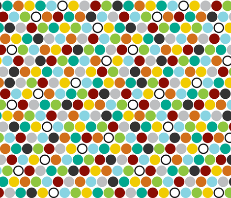Happy Dots fabric by mrshervi on Spoonflower - custom fabric