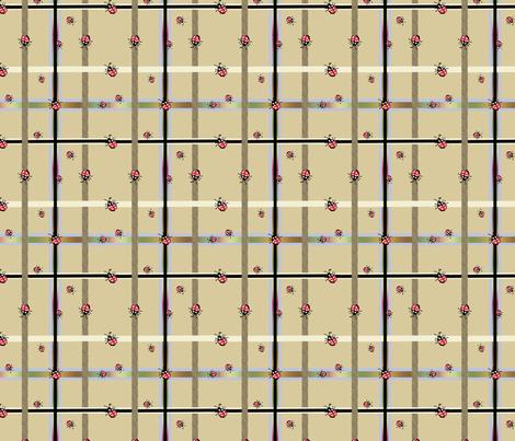 Buggeroo Plaid 1 fabric by colorcrazed on Spoonflower - custom fabric