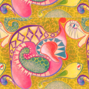 Animorphic Paisley