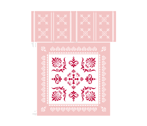 PinkTablecloth fabric by sorensen on Spoonflower - custom fabric