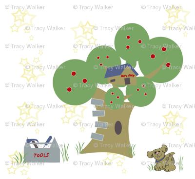 Rock-A-Bye Baby Boy's treehouse