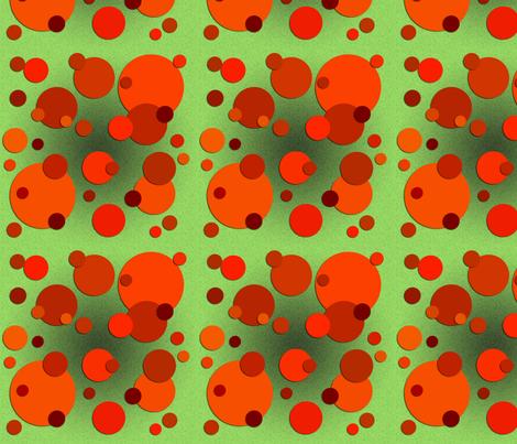 Carrot Spots fabric by nezumiworld on Spoonflower - custom fabric