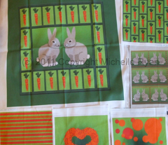 Rabbits and Carrots Panel