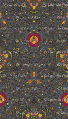 Blooming Paisleys - © Lucinda Wei