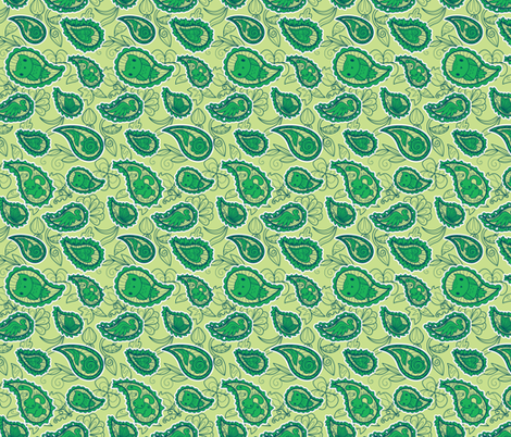 Dewdrop Critters fabric by jillianmorris on Spoonflower - custom fabric