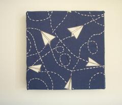 Design Crafty Paper planes 'night sky'