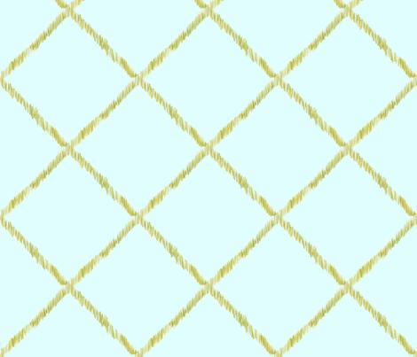 Ikat-LatticeRepeat fabric by katrinazerilli on Spoonflower - custom fabric