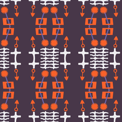 Vaguely Nautical fabric by boris_thumbkin on Spoonflower - custom fabric