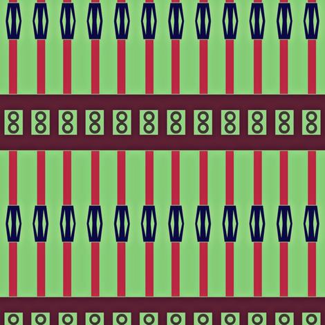 Straw Lantern Stripes fabric by boris_thumbkin on Spoonflower - custom fabric