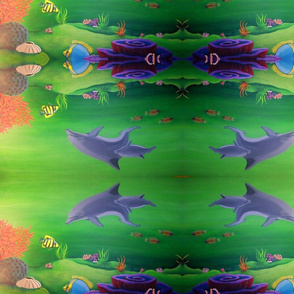 Dolphin World by Cindy Wilson