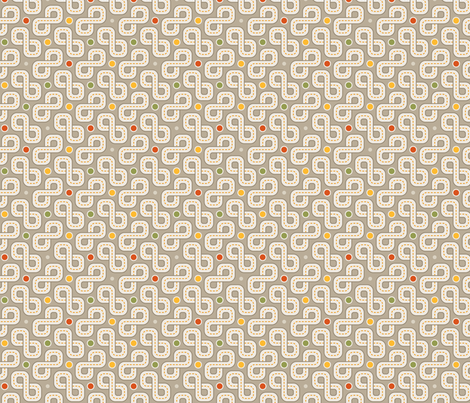 Infinity Roads fabric by abqdesign on Spoonflower - custom fabric