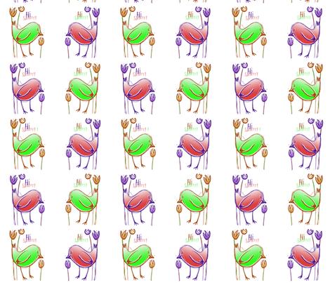 Hi Sweety ! 3 fabric by tissi76 on Spoonflower - custom fabric