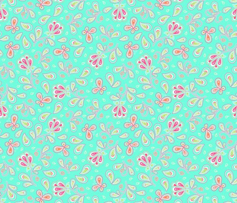 Rpaisley_garden_aqua_orange_shop_preview