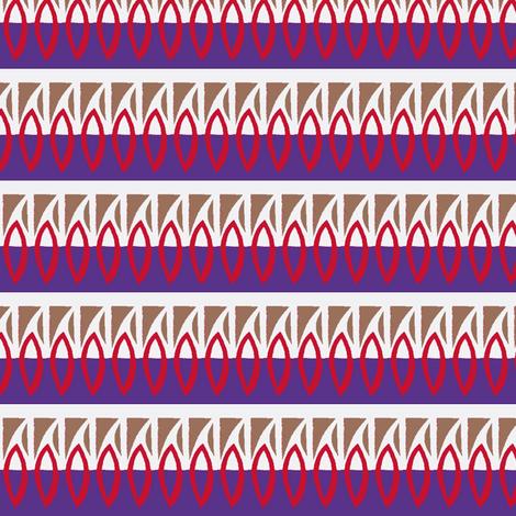 Purple Flames fabric by boris_thumbkin on Spoonflower - custom fabric