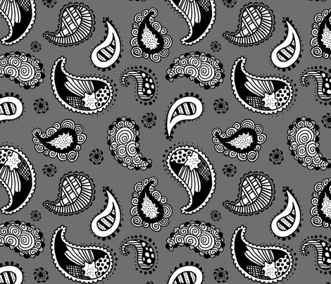 paisley fabric by renule on Spoonflower - custom fabric