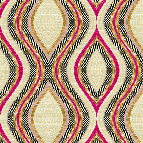 Mendicino Medallion fabric by joanmclemore on Spoonflower - custom fabric