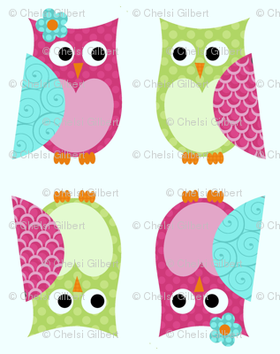 Whimsy Tots Owl Buddies
