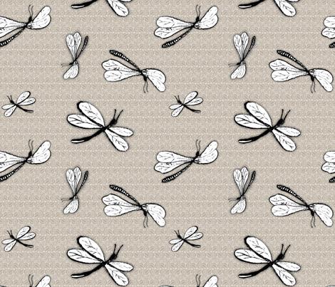 dragonflies fabric by renule on Spoonflower - custom fabric