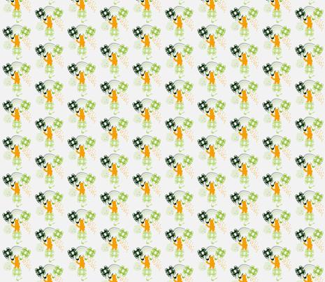 1 Lucky Guy fabric by tracydb70 on Spoonflower - custom fabric